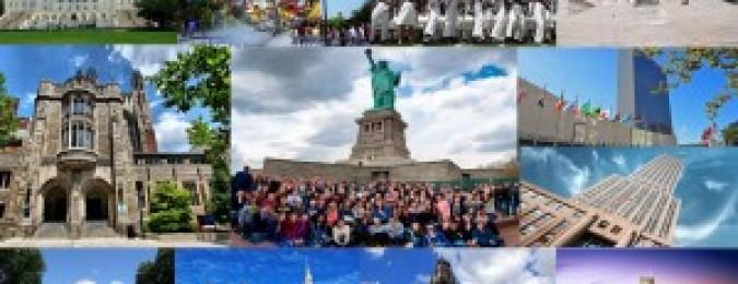 【通知】2017-2018美国16天访问交流游学团报名通知